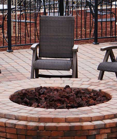 Evergreen Landscape Management LLC Commercial Outdoor Fire Pits