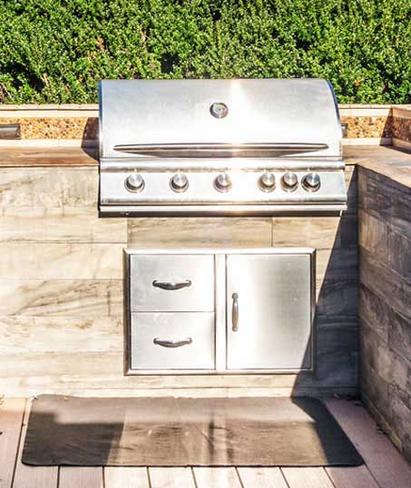 Evergreen Landscape Management LLC Commercial Outdoor Kitchen
